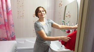 ВЛОГ Домашние дела никто не отменял.Уборка в ванной комнате.
