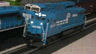 HO Scale Broadway Limited Conrail GE C30-7