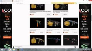 Самый лудший сайт для вещей DOTA 2 и CS:GO
