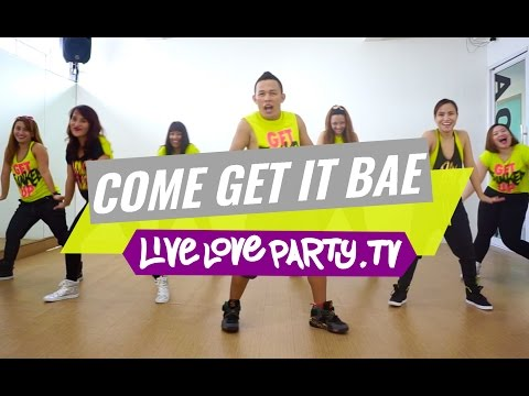 Come Get It Bae [AUDIO MUTED DUE TO COPYRIGHT CLAIM] | Zumba® | Live Love Party