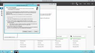 l'installation de serveur DNS et la création des zone--Windows Server 2012