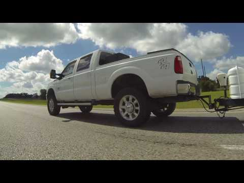 Up Smith Creek in Luling, TX 4x4 with Tongue & Texas Trailer I-10 Hauler, 30 July 2016 GP020061