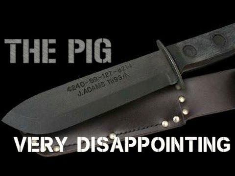 Uk Mod 4 Survival Knife Review Very Disappointing Youtube