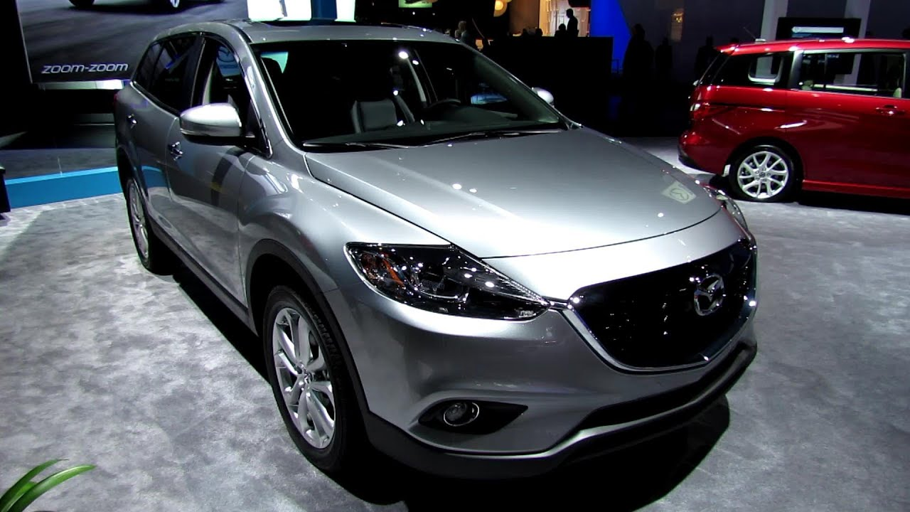 2013 Mazda Cx 9 Grand Touring Awd Silver Exterior And