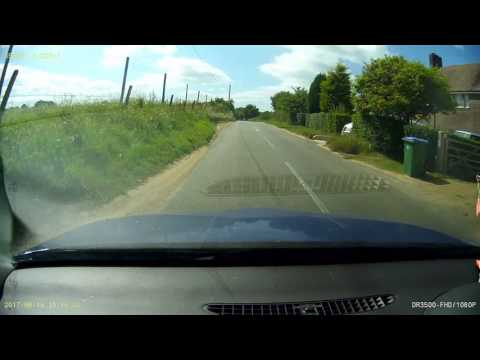 Country roads of West Sussex (a dash cam trip)