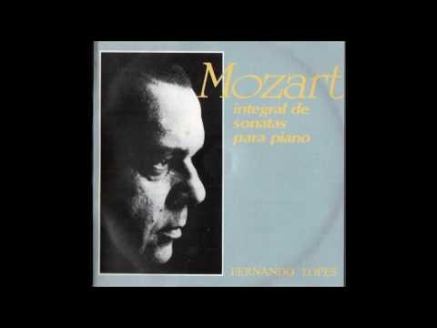CD Mozart - Sonatas (Fernando Lopes, piano) (1990) Parte 1