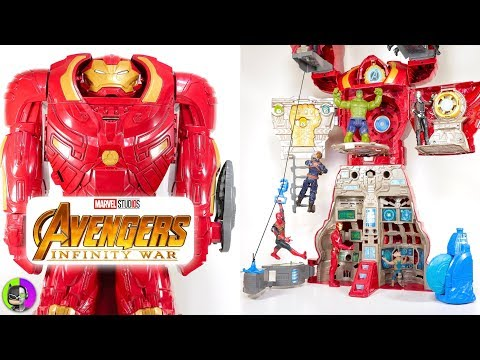'HULKBUSTER ULTIMATE FIGURE HQ' Playset Review | Avengers Infinity War | Hero Vision