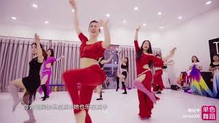 Jasirah and lovely Chinese dancers - April 2018