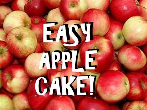 Dumpster Cuisine! Quick, Easy, Delicious! APPLE CAKE With BOXED YELLOW CAKE MIX ~ Eat Well For Less!
