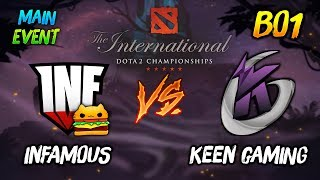 Infamous Gaming vs Keen Gaming► The International Dota 2 2019 Main Event ( TI9 Day 5 ) 😎 | dota 2
