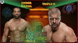 WWE India Live Event Highlights Match Cards  8/12/2017