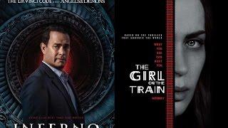Просмотренное в октябре ч 1: Девушка в поезде, Инферно