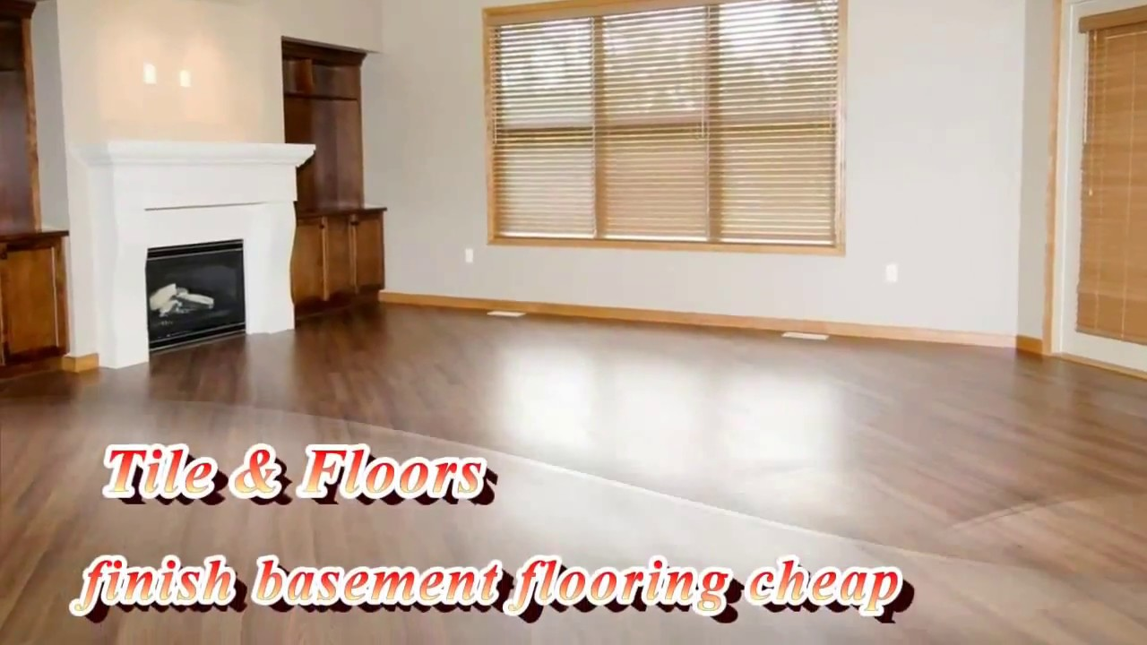 finish basement flooring cheap youtube rh youtube com