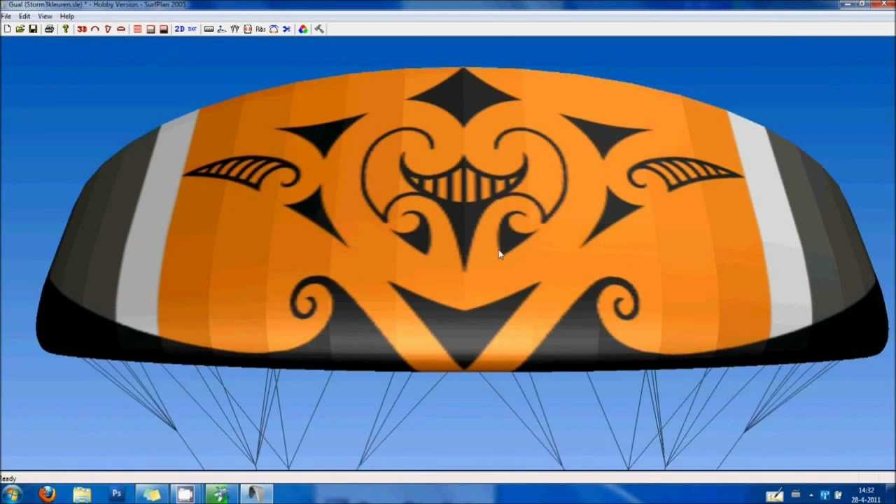 How to design create and fly a maori tribal kite with koru patterns  YouTube