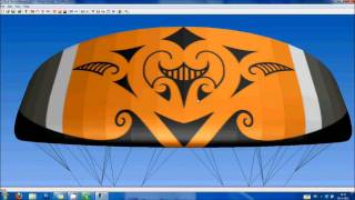 How to design, create and fly a maori tribal kite with koru patterns