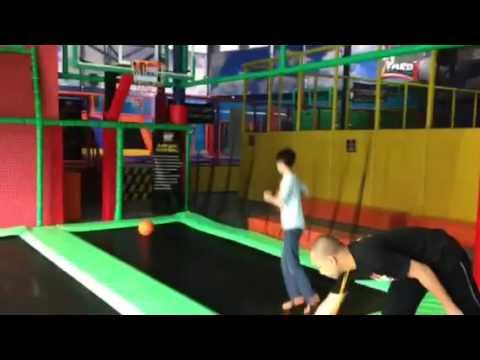 Jump Yard Indoor Trampoline Park Pasig City Beside Fun Ranch Youtube