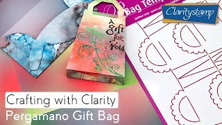 Clarity How To - Pergamano Gift Bag