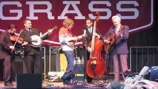 """Del McCoury Band with Sam Bush - """"Roll On Buddy, Roll On"""" - FreshGrass, MASS MoCA, 9.22.13"""