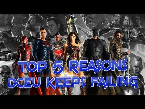 5 Reasons DC Can't Compete with Marvel