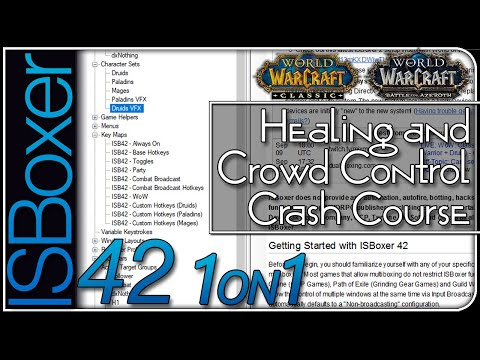 ISBoxer 42 — Healing And Crowd Control (Crash Course) — One-on-One W/ MiRai
