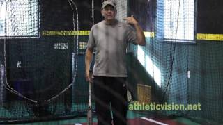 Baseball/softball vision training. tracking