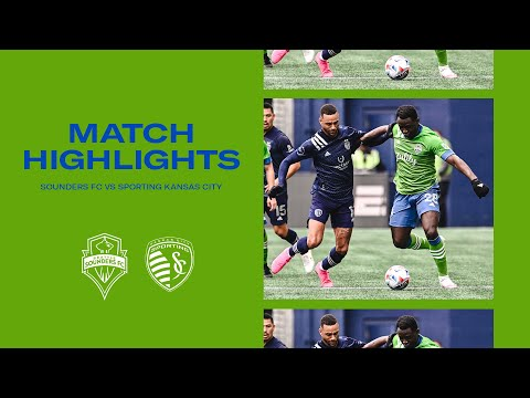 Seattle Sounders Kansas City Goals And Highlights