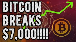 Bitcoin Breaks Out Bullish & Smashes $7k - Is It a Trap?