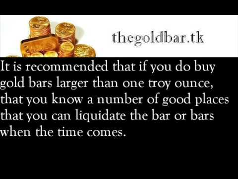 (Buying Gold Bars) Things To Know