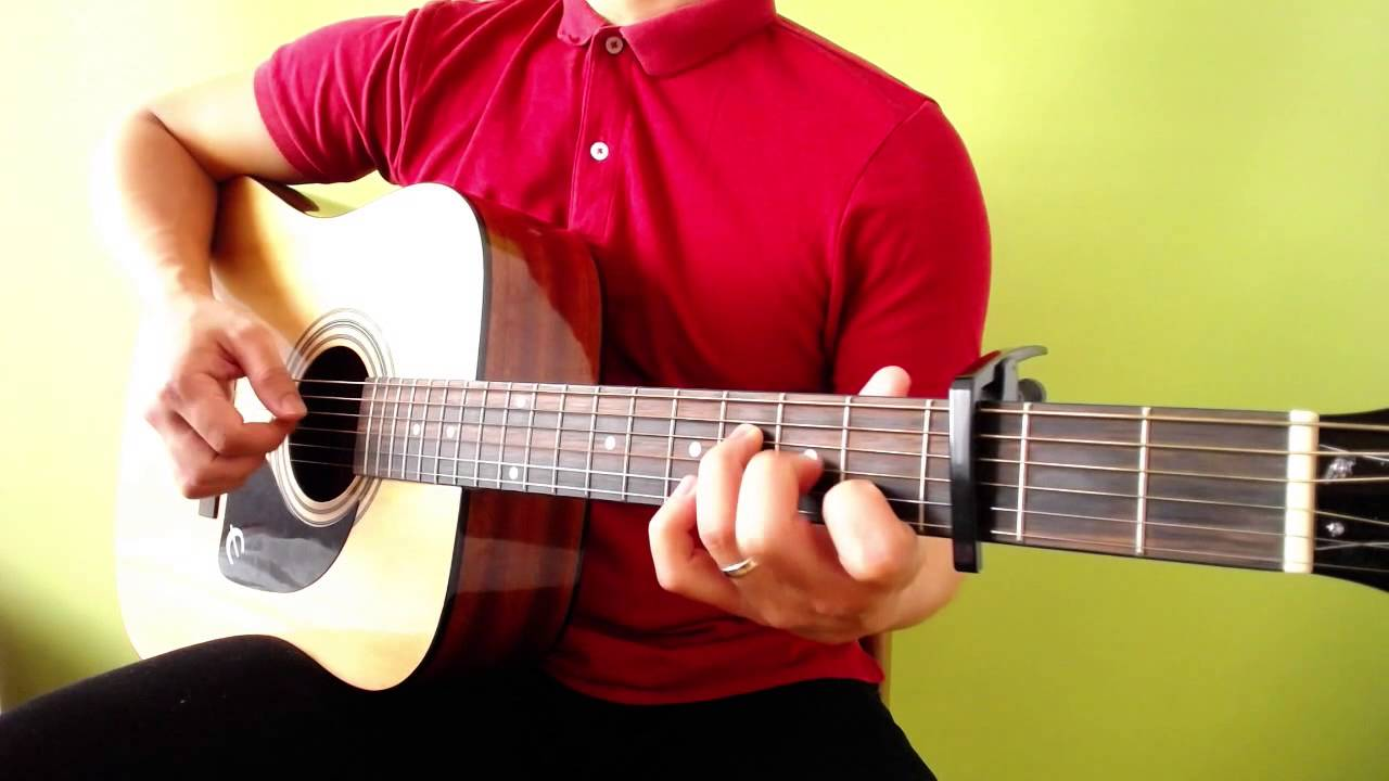 Fireflies Owl City Beginner Fingerstyle Song Arrangement Youtube
