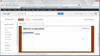 Erstellen Sie eine Persönliche Website mit Google Sites in Minuten