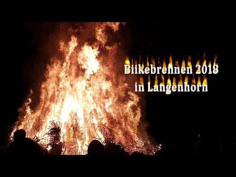 Biikebrennen in Langenhorn 2018