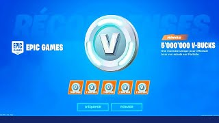 'GROS BUG' HAVE 50,000 V-BUCKS FOR FREE 0 BUG FORTNITE SAISON 9 - PS4/ONE/PC/SWITCH/MOBILE