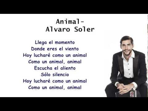 Álvaro Soler - Animal Letra