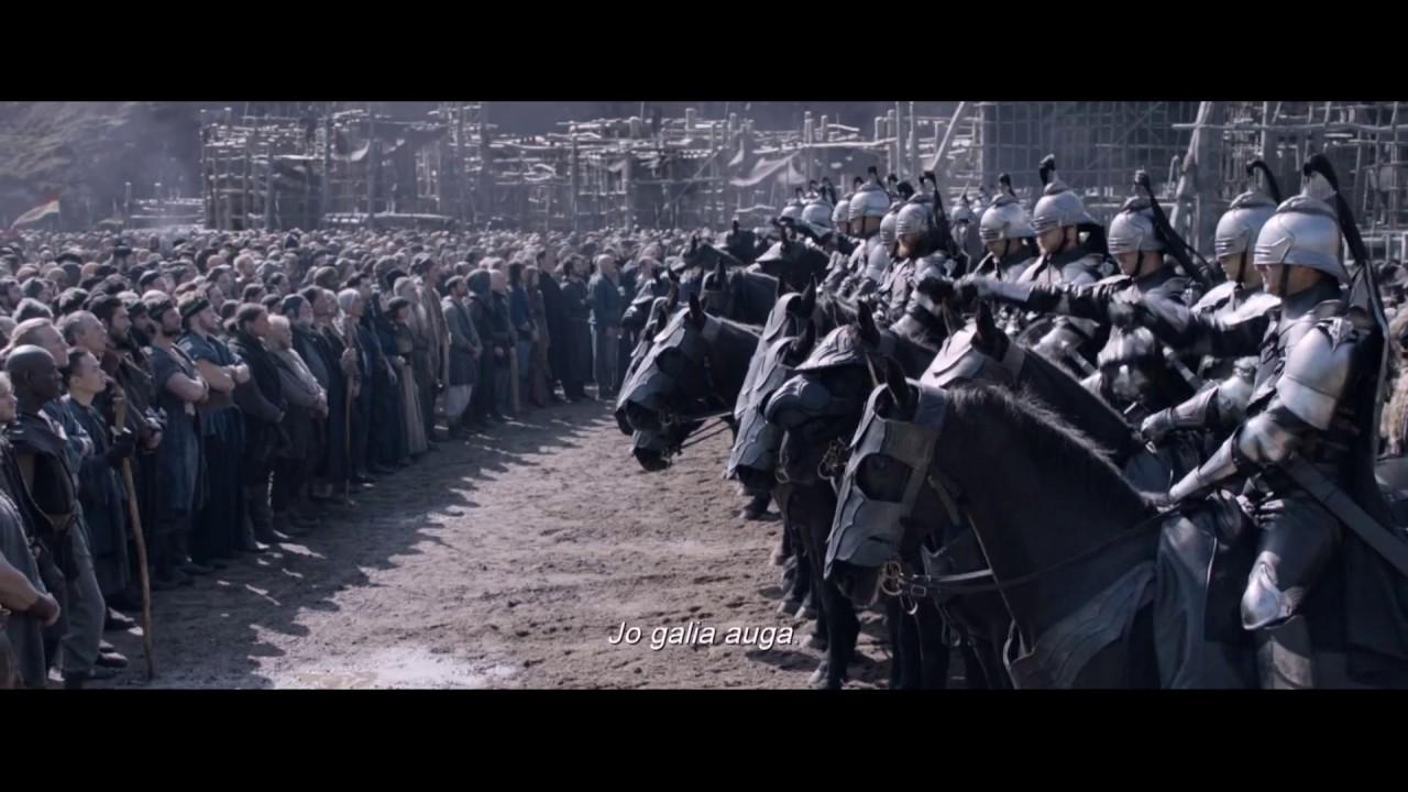 KARALIUS ARTŪRAS: KALAVIJO LEGENDA - Ekskaliburo istorija kinuose gegužės 12 d. (naujausias anonsas)