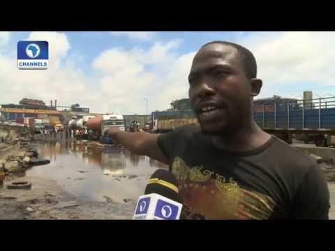 Eyewitness Report Focuses On The Worsening State Of Apapa Road