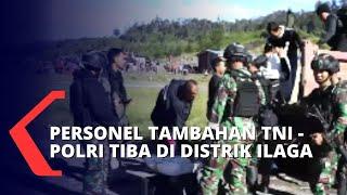 Download Kejar KKB Papua, Personel Tambahan TNI - Polri Dikirimkan ke Distrik Ilaga