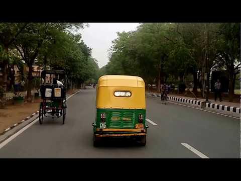 A ride in IIT Delhi Campus