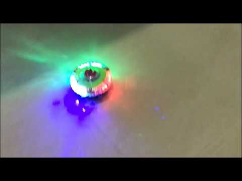 Magic Spinning Top Double Light Electronic Top With Music Kids Toy