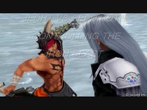 Jecht vs Sephiroth: Dissidia Lost Chapters Fight - YouTube