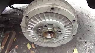 Причина скрежета в колесе ВАЗ 21061