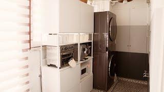 정리정돈을 위한 팬트리 만들기 | 세탁실 베란다 정리 …