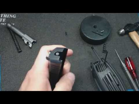 Repeat Kel Tec PF9 Disassembly - Not 100% but all you should need by