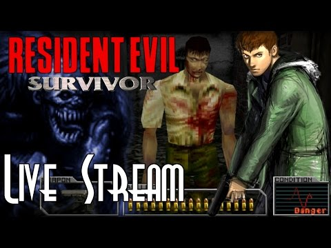 Let's Blindly Stream Resident Evil Survivor! - Normal Mode P