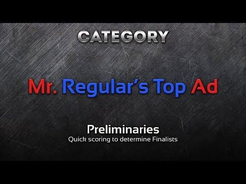 Mr. Regular's Top Car Ad, Design Competition (Round 1)