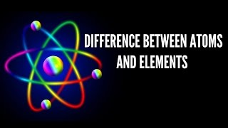 Atoms and Elements Explained