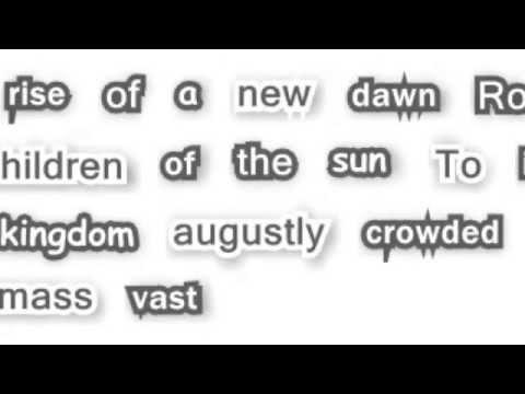 Eluveitie - Luxtos (Lyrics)