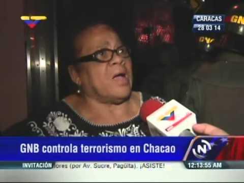 Guarimbas y violencia en Chacao este viernes: Señora hipertensa de 70 cuenta su caso