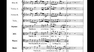"""Bach, Matthäus-Passion - """"Wahrlich, dieser ist Gottes"""", 3 versions (score)"""