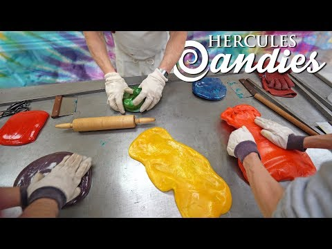 We Make Fruit Punch Tie Dye Hard Candy! (NEW)