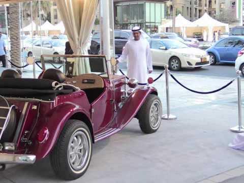 Emirates Classic Car Festival Opens In Dubai Youtube